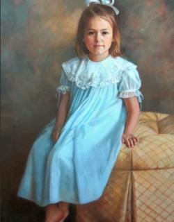 Ann Mason 43x28 Portrait