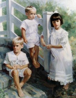 John, Michael & Audrey