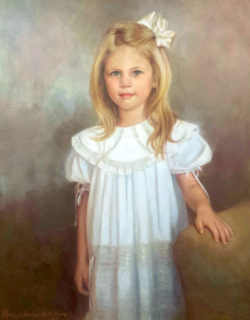 Lucy child portrait